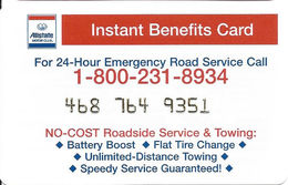 Allstate Insurance Instant Benefits Card - Thin Plastic - Other Collections