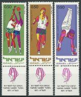 ISRAEL 1971 MI-NR. 511/13 ** MNH - Israël