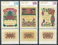 ISRAEL 1971 MI-NR. 514/16 ** MNH - Ongebruikt (met Tabs)