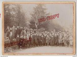 Au Plus Rapide Drôme Saint Uze 17 Novembre 1904 Photo E Sedallian Photo De Classe ? Enfant Animation 13 Par 18 Cm - Personnes Identifiées