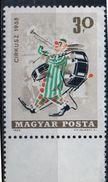 PIA - UNGHERIA - 1965 : Il Circo - Clown Musicista  - (Yv  1745) - Nuovi