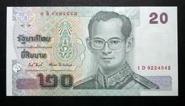 Thailand Banknote 20 Baht Series 15 P#109 SIGN#82 UNC - Thailand