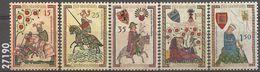 1961 - 359 à 363 ** - VC: 15.00 Eur. - Liechtenstein