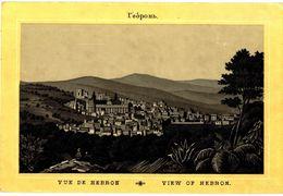 CPA N°3300 - VUE DE HEBRON - VIEW OF HEBRON - Palästina