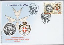 Romania 2012 / Joint Issue With Malta Order FDC - Emissioni Congiunte