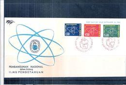 Energie Atomique - FDC Indonésie  - 1962 - Série Complète (A Voir) - Atomenergie