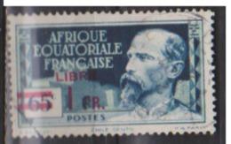 A E F           N° YVERT  :  140  (1)      OBLITERE  ( O 65 ) - A.E.F. (1936-1958)