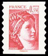 Autoadhésif(s) De France N°  231 ** Ou 4293 - Visage De La (5ème) Cinquième République - Sabine De Gandon - France