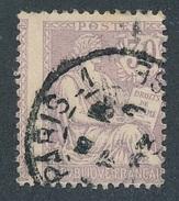 BK-48: FRANCE: Lot Avec N°128 Obl Piquage Cheval - 1900-02 Mouchon