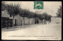 MONTPEZAT DE QUERCY 82 - Avenue De La Gare - Boulevard Des Fossés - Montpezat De Quercy