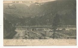 Lac Noir Schwarzer See Urbeis  Timbrée Vers Gustave Weill Naples - Autres Communes