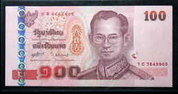 Thailand Banknote 100 Baht Series 15 P#114 SIGN#80 UNC - Thaïlande