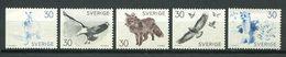 159 SUEDE 1968 - Yvert 604/08 - Oiseau Lapin ... - Neuf ** (MNH) Sans Trace De Charniere - Suède