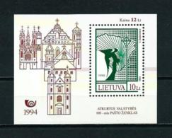 Lituania  Nº Yvert  HB-4  En Nuevo - Litauen