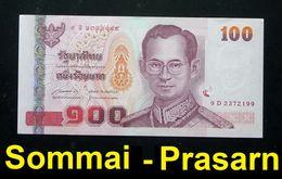 Thailand Banknote 100 Baht Series 15 P#114 SIGN#85 UNC - Thailand