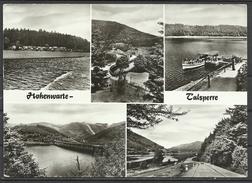 Germany, Hohenwarte-Talsperre,Multi View,  1980. - Saalfeld