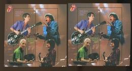 2003  Autriche Paire Blocs Rolling Stones  ** Notez Les Différences De Couleur Sur Le Coté Gauche  MUSIQUE - Blocs & Feuillets