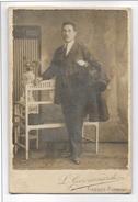 FOTO ANTICA SIGNORE STUDIO GIOVANNARDI FIRENZE CM.12,5X8 - Old (before 1900)