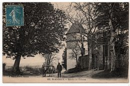 Saint Andeux : Entrée Du Château (Editeur A. Duciel, Saulieu, N°401) - Autres Communes