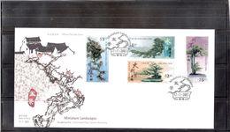 FDC Hong Kong - 2003 - Miniature Landscapes - Complete Set - 1997-... Région Administrative Chinoise