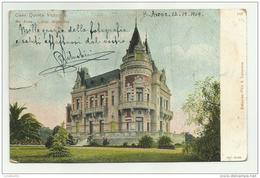 CASA QUINTA VICTORIA BUENOS AIRES ANNO 1909 --  VIAGGIATA FP - Argentine