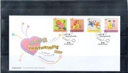 FDC Hong Kong - 2009 - Heartwarming - Complete Set - 1997-... Région Administrative Chinoise