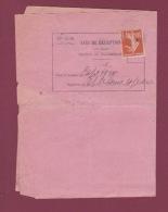 France - 240717 - Avis De Réception D'un Objet Recommandé De BEAUNE Cote D'Or à CAPE TOWN Cap De Bonne Espérance 1910 - 1877-1920: Période Semi Moderne