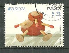 POLAND Oblitéré 4427 Europa Jouets Anciens Jouet Jeu - Used Stamps
