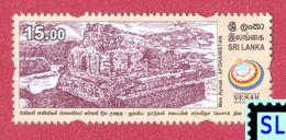 Sri Lanka Stamps 2017, UN Vesak Day, Mes Aynak, Afghanistan, Buddha, Buddism, MNH - Sri Lanka (Ceylon) (1948-...)