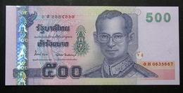 Thailand Banknote 500 Baht Series 15 P#107 SIGN#84 UNC - Thailand
