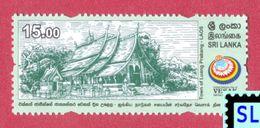 Sri Lanka Stamps 2017, UN Vesak Day, Luang Prabang, Laos, Buddha, Buddism, MNH - Sri Lanka (Ceylon) (1948-...)