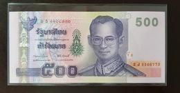 Thailand Banknote 500 Baht Series 15 P#107 SIGN#78 UNC - Thailand