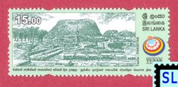 Sri Lanka Stamps 2017, UN Vesak Day, Taxila, Pakistan, Buddha, Buddism, MNH - Sri Lanka (Ceylon) (1948-...)