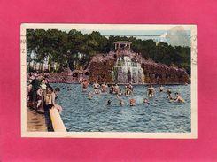 31 Haute Garonne, TOULOUSE, La Piscine Municipale Du Parc, Animée, Cascade, 1938, () - Toulouse
