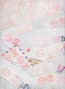 FRANCE - Beau Lot De 330 Enveloppes Avec Vignettes D'Affranchissement - Vignette - Computer Labels - Label - Frama - PP - Vignettes D'affranchissement