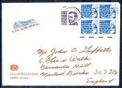 G302- USA United States Postal History Cover. Post To U.K. England. - United States