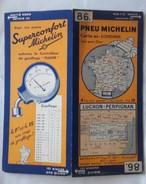 Carte Géographique MICHELIN - N° 086 LUCHON-PERPIGNAN - N° 3426-103 - Cartes Routières