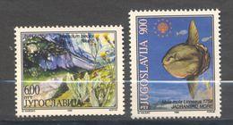 Yougoslavia, Yvert 2718&2719, Scott 2410&2411, MNH - Ongebruikt
