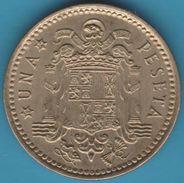 ESPANA 1 PESETA 1966 (74) KM# 796 FRANCO - [ 5] 1949-… : Kingdom