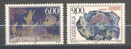 Yougoslavia, Yvert 2734&2735, Scott 2418&2419, MNH - Ongebruikt