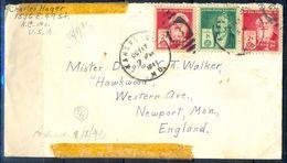 G324- USA United States Postal History Cover. Post To U.K. England. - United States