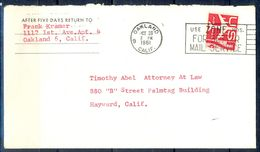 G326- USA United States Postal History Cover. - United States