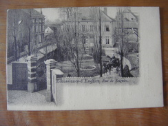 ECAUSSINNES - D' ENGHIEN --- Rue De Soignies --- Voir Aussi Au Verso : Menu Ecaussinnes Juillet 1903 - Ecaussinnes