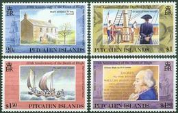 Pitcairn Islands 1992, William Bligh Mi.# 404-407, MNH / ** - Stamps