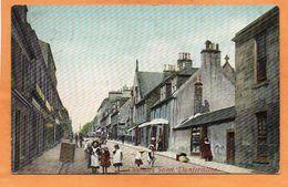 Dunfermline Chalmers St UK 1907 Postcard - Fife