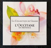 L'OCCITANE EN PROVENCE - Carte Parfumée - Parfum Pour Femme - Perfume Cards