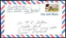 G356- USA United States Postal History Cover. Post To U.K. England. - United States