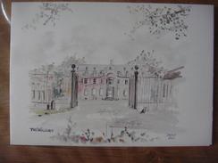 THORICOURT ( Silly ) - Château De Thoricourt ( Jasco 1985 ) Carte Double (voir Scans) - Silly
