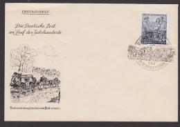 Tag Der Briefmarke 1953 FDC 396 Neubrandenburgische Fahrende Post - DDR