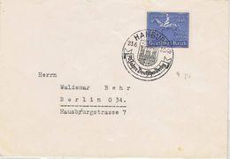 Fernbrief Mit Einzelfrankatur Nr.698 Blaues Band 1939 Nach Berlin - Briefe U. Dokumente